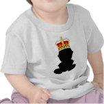 Rey del bebé camisetas