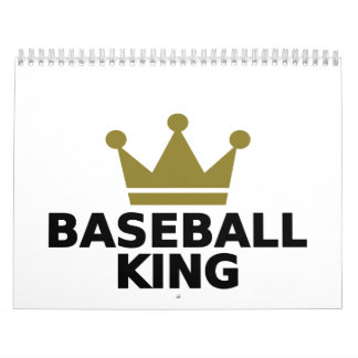 Rey del béisbol calendario