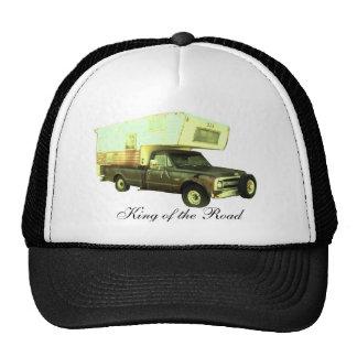 Rey del camino - campista del camión del vintage gorra