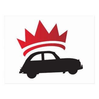 Rey del camino tarjeta postal