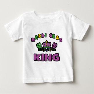 Rey del carnaval playera de bebé