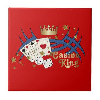 Rey del casino teja cerámica