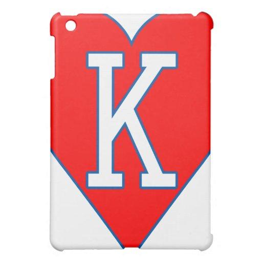 Rey del caso del iPad de los corazones