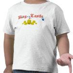 Rey del castillo de la arena camisetas