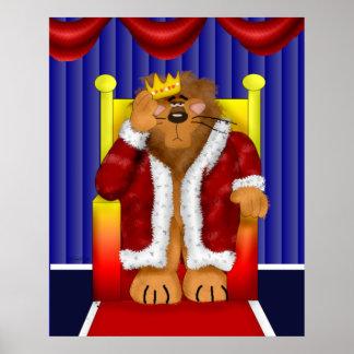 Rey del castillo impresiones