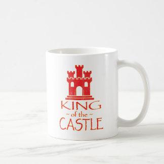 Rey del castillo tazas de café