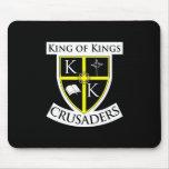 Rey del cojín de ratón de reyes Crusaders Alfombrilla De Ratones
