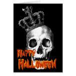 Rey del cráneo felicitación