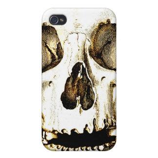 Rey del cráneo iPhone 4/4S carcasas