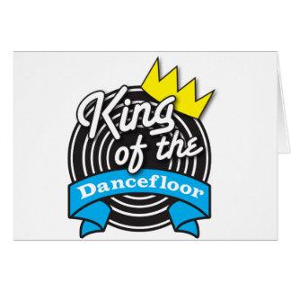 Rey del Dancefloor Tarjeta