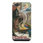 Rey del ~ del cepillo del acto mágico del vintage  iPhone 5 coberturas