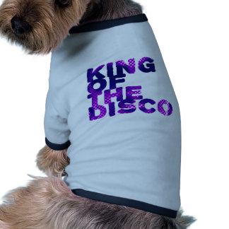 Rey del disco camisa de perro