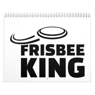 Rey del disco volador calendario