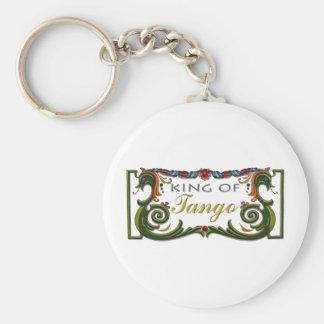 ¡Rey del diseño exclusivo del tango! Llavero Redondo Tipo Pin