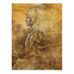 Rey del duende tarjeta postal