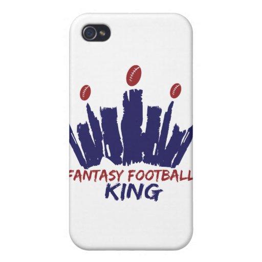 Rey del fútbol de la fantasía iPhone 4/4S carcasas