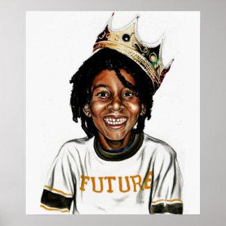 Rey del futuro posters