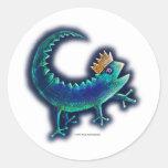 Rey del Gecko Pegatinas