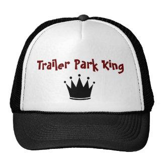 Rey del gorra del parque de caravanas
