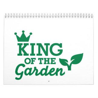 Rey del jardín calendarios