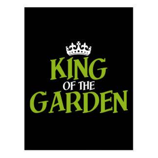 Rey del jardín postal