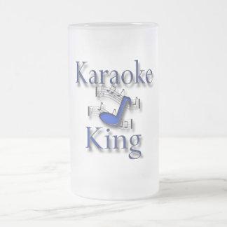Rey del Karaoke Taza Cristal Mate