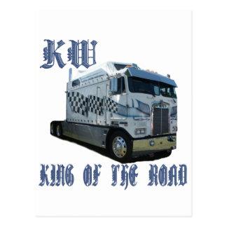 Rey del kilovatio del camino postales