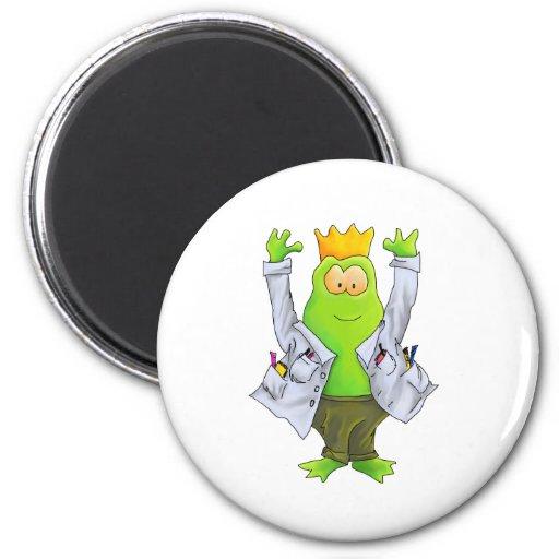 Rey del laboratorio imanes de nevera