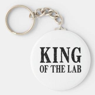 Rey del laboratorio - llavero