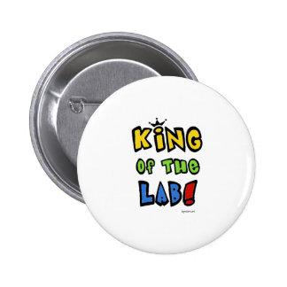 Rey del laboratorio pin