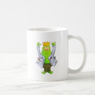 Rey del laboratorio taza clásica