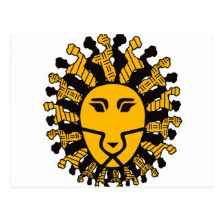 Rey del león de Malawi Postal