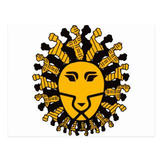 Rey del león de Malawi Tarjeta Postal