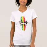 Rey del león del reggae camiseta