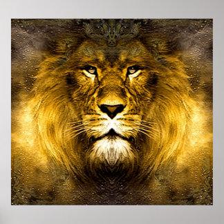 Rey del león impresiones