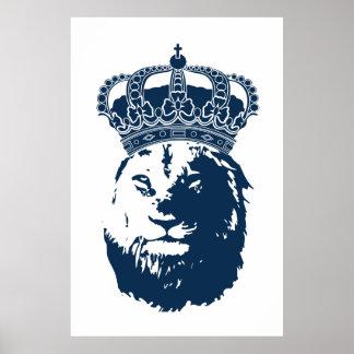 Rey del león póster