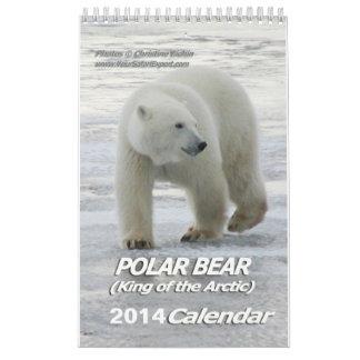 Rey del OSO POLAR del calendario ártico 2014 1-Pg.