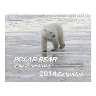 Rey del OSO POLAR del calendario ártico 2014 2-Pg.