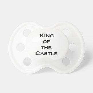 Rey del pacificador del castillo chupetes para bebes