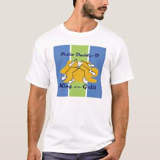 Rey del Papá-o del patio de la camiseta de la