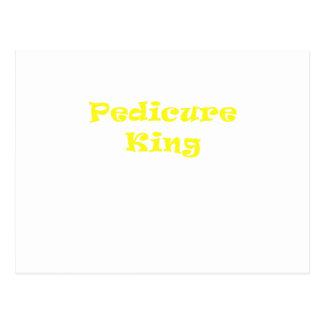 Rey del Pedicure Tarjetas Postales