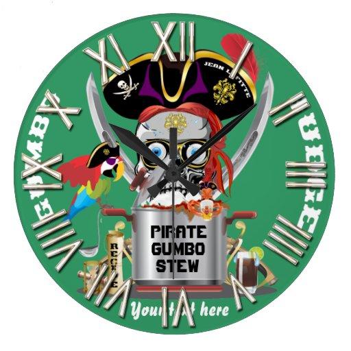 Rey del pirata de reyes Important View Hints Reloj De Pared