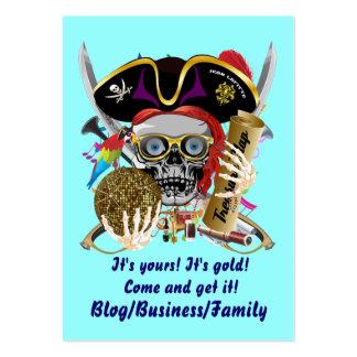 Rey del pirata de reyes Lafitte Important View Tarjetas De Visita Grandes