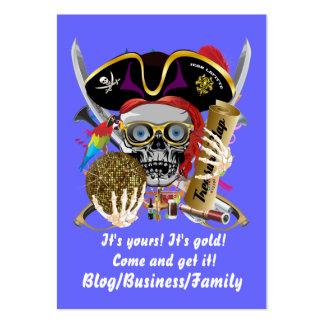 Rey del pirata de reyes Lafitte Important View Tarjeta De Visita