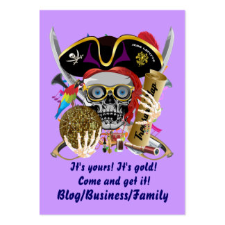 Rey del pirata de reyes Lafitte Important View Tarjeta Personal