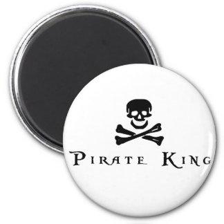 Rey del pirata imán de frigorifico