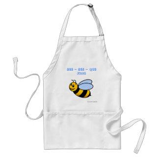 rey del que de la abeja de la abeja que cocina al  delantal