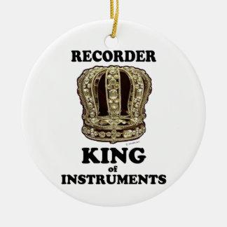 Rey del registrador de instrumentos
