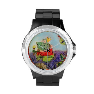 Rey del reloj de las ranas