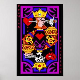 Rey del suicidio póster